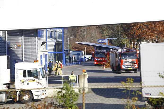De brandweer onderzocht de melding over een vreemde geur bij CêlaVíta in Wezep. Het onderzoek leverde geen resultaat op.