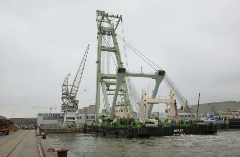 Le Titan Anversois (Hoboken), Elektrische topkraan, Collectie Stad Antwerpen, MAS,