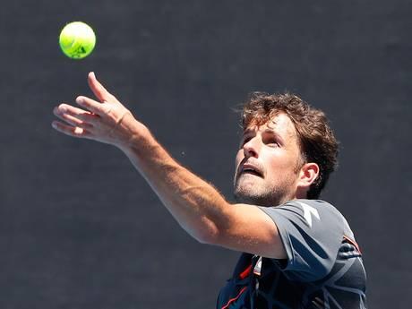 Australian Open écht over voor Haase: ook verlies in dubbelspel