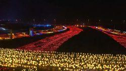 VIDEO. Einde van het Chinees Nieuwjaar gevierd met meer dan 1.000 handgemaakte lantaarns