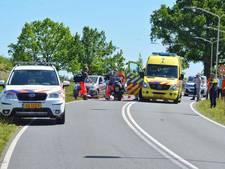 Wielrenner zwaargewond na val in Hoogerheide