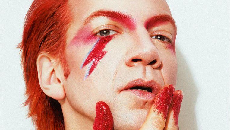Sven Ratzke: 'David Bowies periode voor hij de mainstream bereikte vond ik het interessantst.' Beeld Dennis Veldman