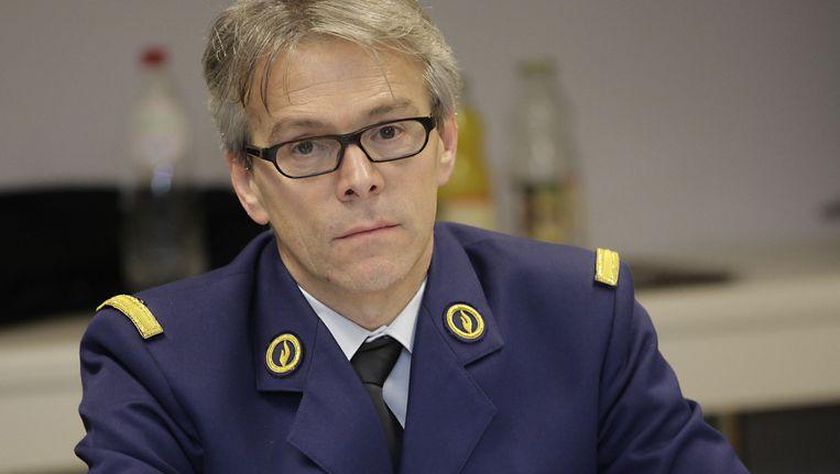 Korpschef Philip Pirard
