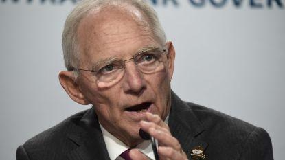 """Schäuble: """"Geen catastrofe als coalitie mislukt"""""""