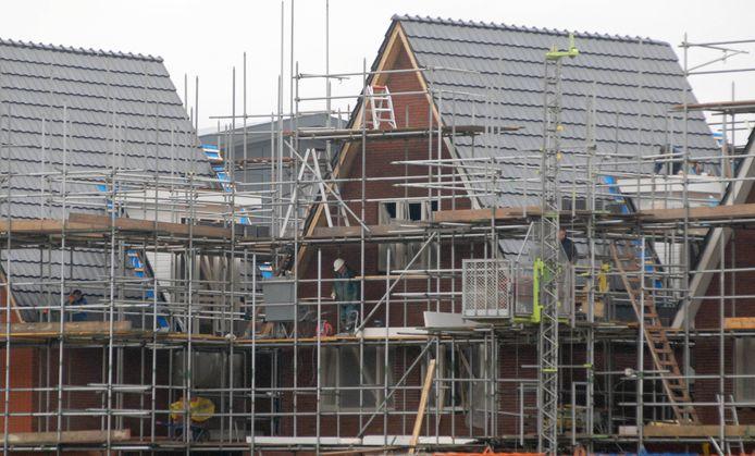 Nieuwbouw in het Arnhemse stadsdeel Schuytgraaf op archiefbeeld. In totaal komen er zo'n 6.500 woningen, verdeeld over 27 bouwvelden.