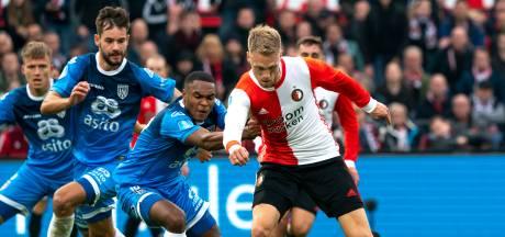 Jørgensen staat al 527 minuten droog tegen Heracles,  wereldprestatie gloort voor Willem II