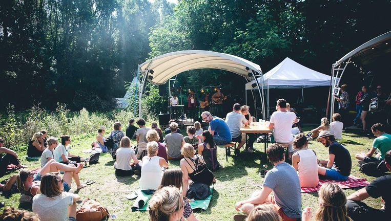 Vorig jaar waren op Amsterdam Woods veel gitaarbandjes, nu is de programmering breder Beeld Amsterdam Woods Festival
