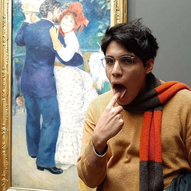 'God hates Renoir'. Beeld Dereklop