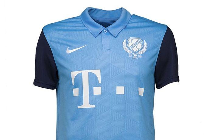 Het nieuwe uitshirt van FC Utrecht.