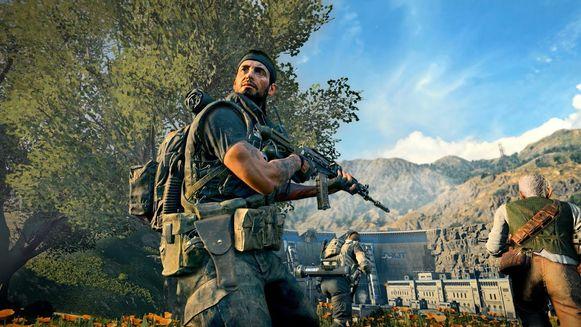 Hebt u het tegen mij? Scène uit 'Call of Duty Black Ops 4'.