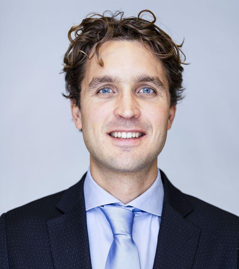 Joris Duindam, Manager Strategie JCDecaux. Beeld