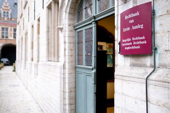 De rechtbank van eerste aanleg in Mechelen.