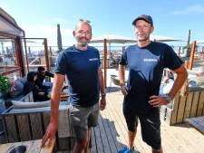 Strandtenteigenaren Scheveningen maken zich klaar voor topdrukte