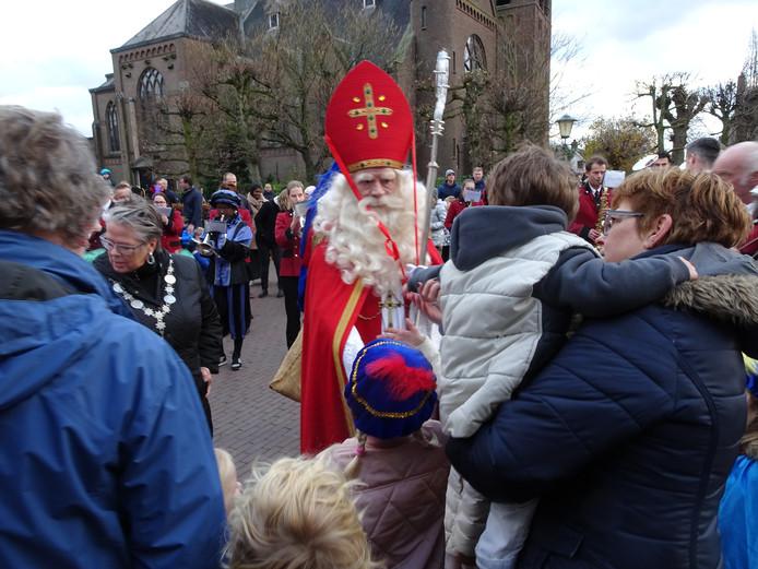 Sinterklaas in Esch.