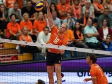 Volleyballers na thriller tegen Tsjechië met nederlaag naar knock-outfase