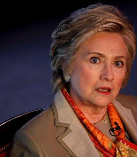 Hillary Clinton dit avoir perdu l'élection à cause de Moscou, Wikileaks et du FBI