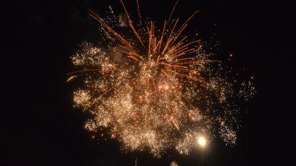 Vuurwerk aan Mirabrug