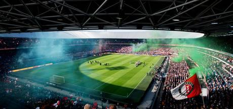 Feyenoord en Ajax werken Klassieker af in bomvolle Kuip