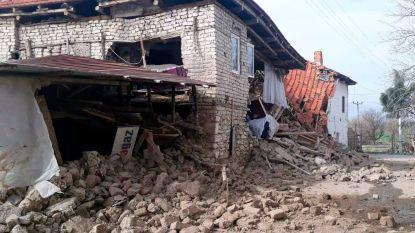 Zuidwesten van Turkije getroffen door aardbeving