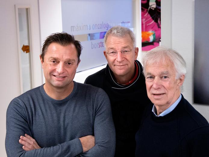 Pascal Matheeuwsen, Wouter Dercksen en Jan Matheeuwsen: de doelen zijn bereikt.