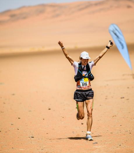 Nederlandse wint loodzware 'Marathon van het zand'
