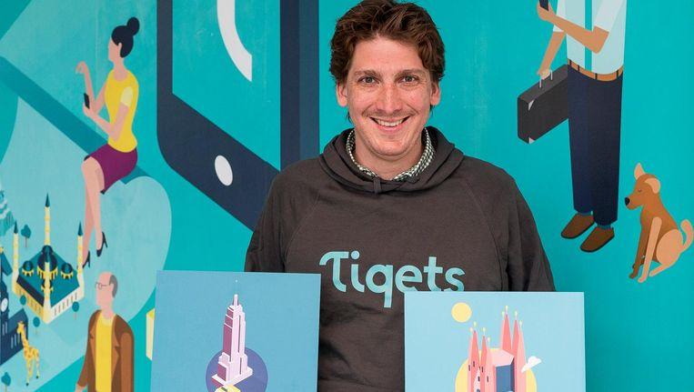 De Amsterdamse start-ups Tiqets en Framer harkten tezamen bijna 50 miljoen dollar binnen. Beeld Rink Hof