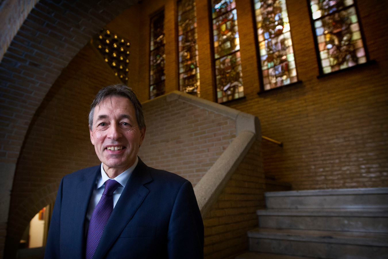 De Astense burgemeester Hubert Vos.
