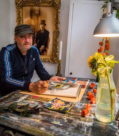 Corona raakt Twentse kunstenaars hard: 'Bijna onmogelijk om van je werk te leven'