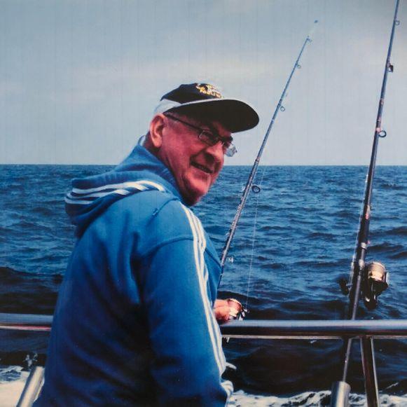 Georges Van Den Berghe was een fervent visser