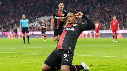 Leon Bailey smeert Bayern München derde competitienederlaag aan