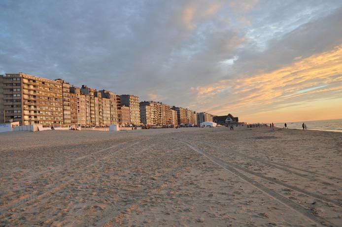 La plage de Middelkerke.