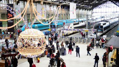 Frans openbaar vervoer staakt door tijdens kerstdagen, ook internationale treinen verstoord