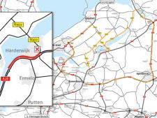 Sluit maar gewoon aan in de file op de A28 vanaf Harderwijk: met omrijden schiet je weinig op