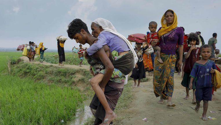 Al meer dan 73.000 Rohingyamoslims zijn gevlucht naar buurland Bangladesh.