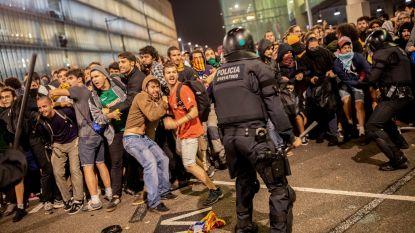 50 gewonden bij hevige protesten in Catalonië