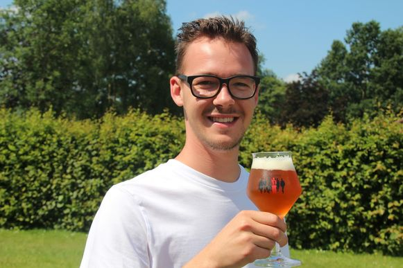 Free Vanryckeghem scoorde meteen met zijn FAL-bier.