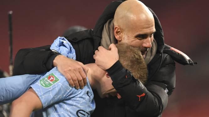 """Guardiola onderstreept Kevins waarde: """"Ik ga De Bruyne keihard missen"""""""