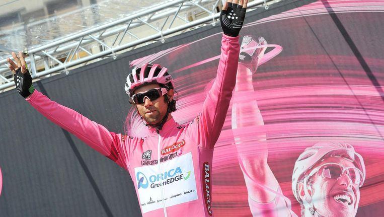Michael Matthews klopt Wellens en Evans op de Montecassino en zit steviger in het roze.