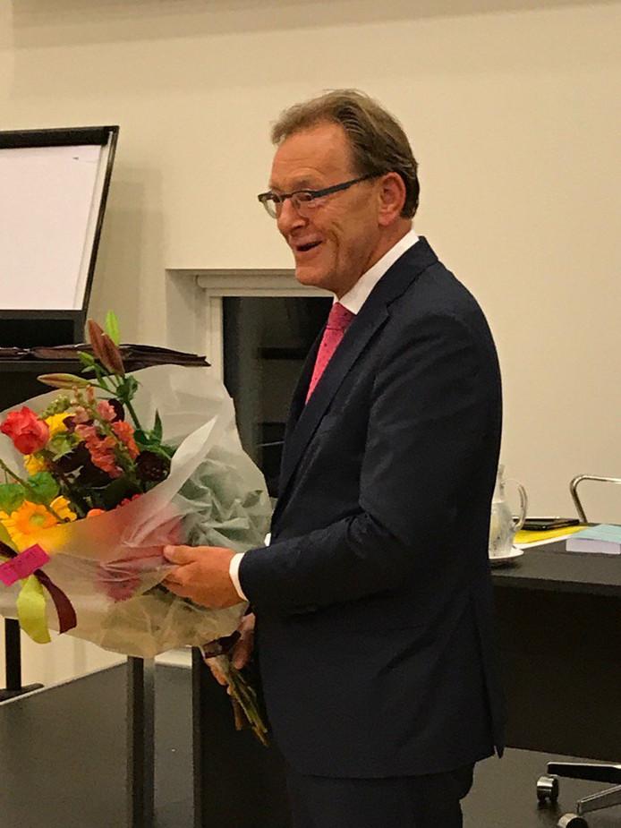 Koos Janssen mag nog zes jaar burgemeester zijn in Zeist.