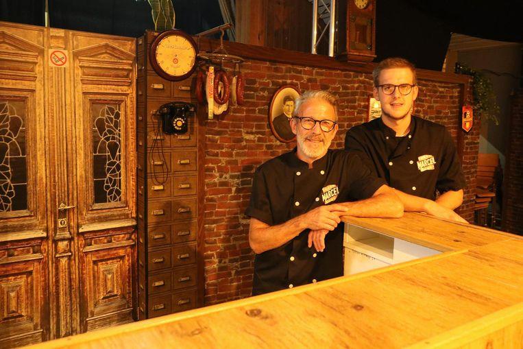 Uitbaters Philip Onderbeke en Sander Tant verwachten je in Bistro Marcel.