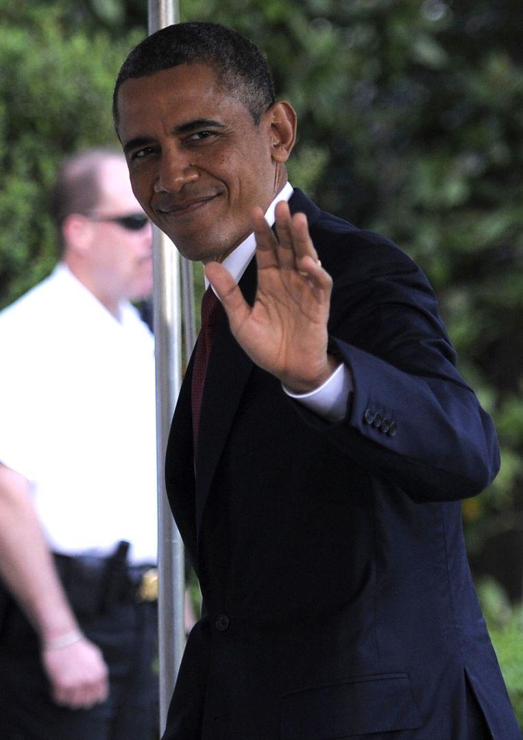Barack Obama. Beeld getty