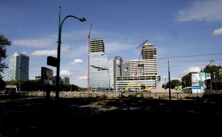 Trimp & van Tartwijk dient de claim in omdat Amsterdam toezeggingen heeft ingetrokken voor twee bouwprojecten aan de Zuidas. Foto ANP/Juan Vrijdag Beeld
