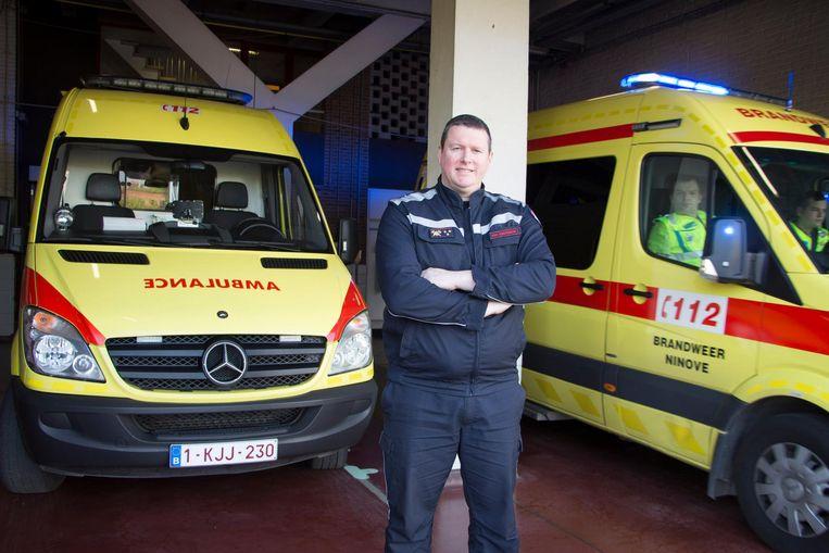 Brandweerkapitein Tom Van Esbroeck.