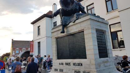 Oorlogsgedenkteken nu helemaal gerestaureerd: Ook sokkel en gedenkplaat opgeknapt
