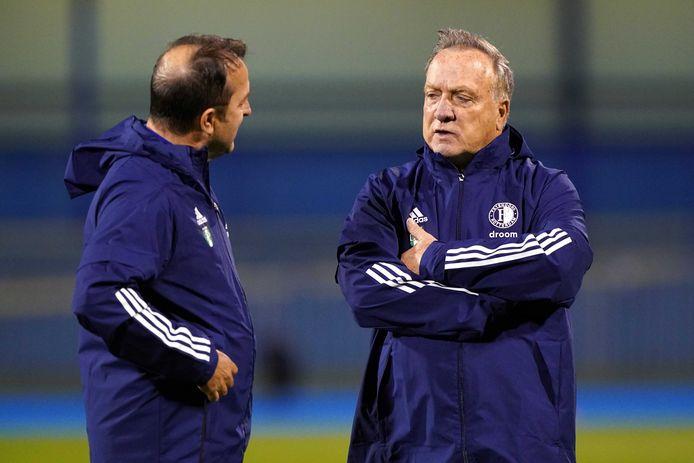 Dick Advocaat en Zeljko Petrovic.