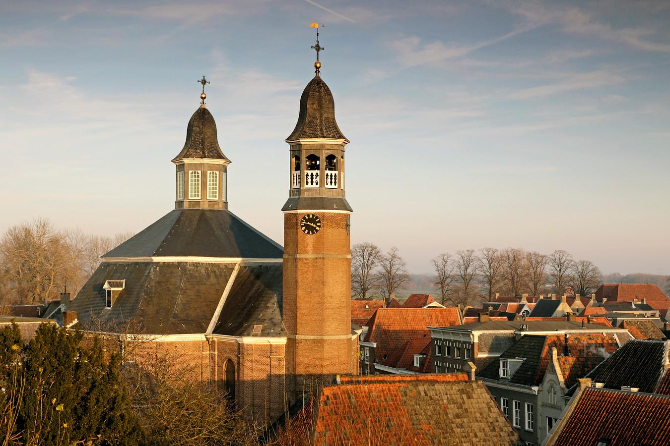 De Sint-Luciakerk in Ravenstein, de enige in barokstijl gebouwde katholieke kerk in Nederland.
