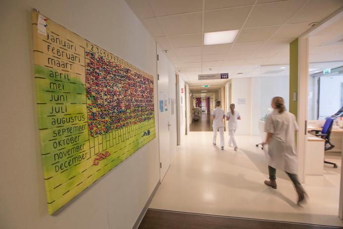 De kraamafdeling van het Máxima Medisch Centrum, waar het Nicu onderdeel van is. Foto Meulenhof