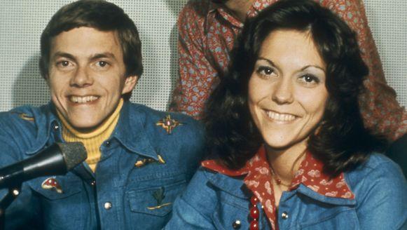 Richard en wijlen Karen Carpenter. Foto uit 1981.