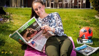 """Tessa Wullaert, die voor moeilijke keuze staat: """"Bij een Belgische club zou mijn leven verrijken"""""""