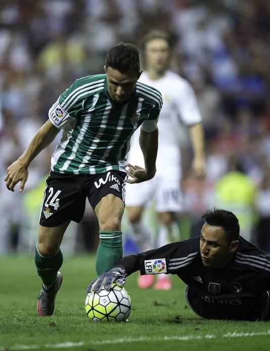 Real Madrid-doelman Keylor Navas.